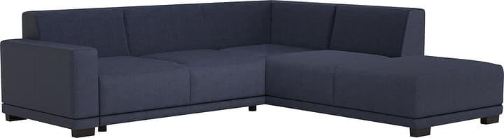 KRÜGER Canapé d'angle 405735800000 Couleur Bleu Dimensions L: 258.0 cm x P: 219.0 cm x H: 77.0 cm Photo no. 1