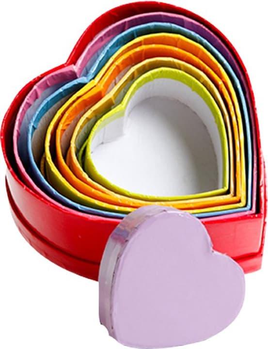 Pappmaché Schachteln Herz I AM CREATIVE 665539100000 Bild Nr. 1