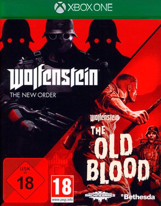 Xbox One - Wolfenstein: The New Order & The Old Blood D Box 785300132641 Photo no. 1