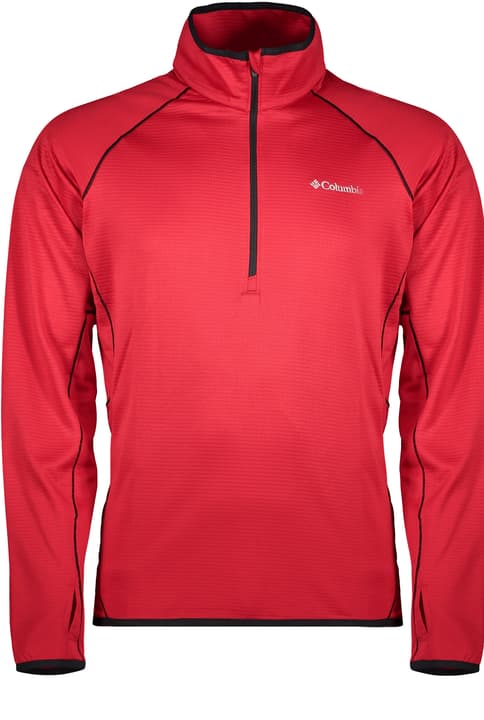 Mount Powder Half Zip Fleece Herren-Fleecepullover Columbia 460362700530 Farbe rot Grösse L Bild-Nr. 1