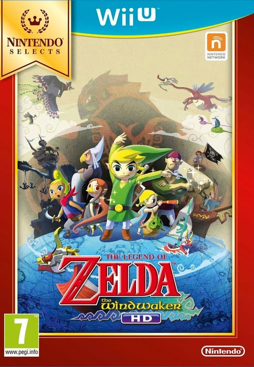 Wii U - Selects The Legend of Zelda: The Wind Walker HD Box 785300120989 Bild Nr. 1