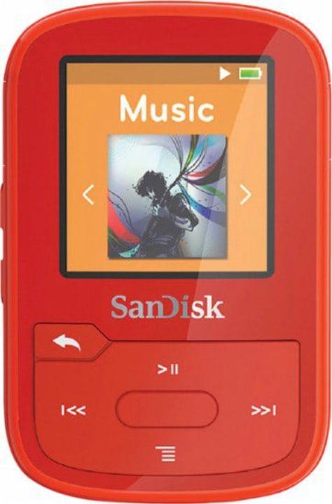 Clip Sport Plus 16GB - Rot MP3 Player SanDisk 785300128712 Bild Nr. 1