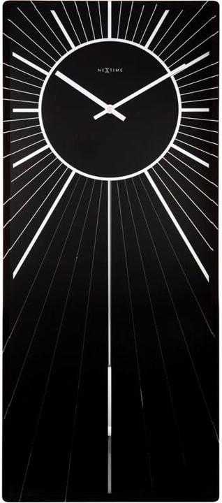 Orologio da parete Heavenly Black 70 x 30 Horologe murale NexTime 785300138498 N. figura 1