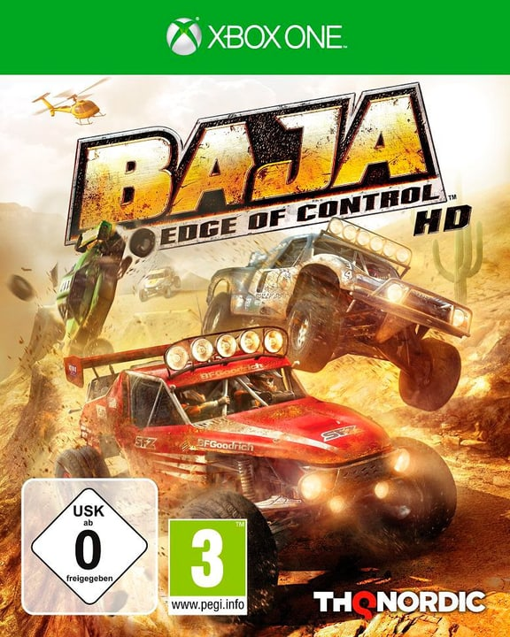 Xbox One - Baja: Edge of Control HD Box 785300122128 Photo no. 1