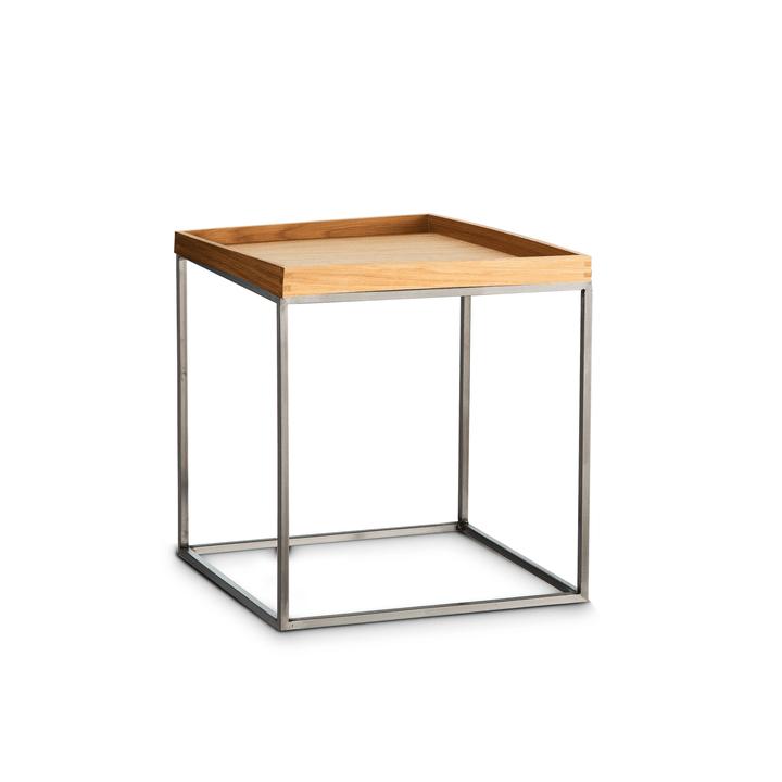 COFFEE table d'appoint 362232700000 Dimensions L: 35.0 cm x P: 35.0 cm x H: 39.0 cm Couleur Chêne Photo no. 1
