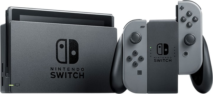 Console Switch Gris Nintendo 785435700000 Photo no. 1