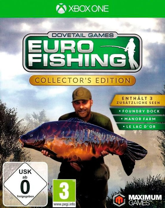 Xbox One - Euro Fishing Collector's Edition D Box 785300132137 N. figura 1