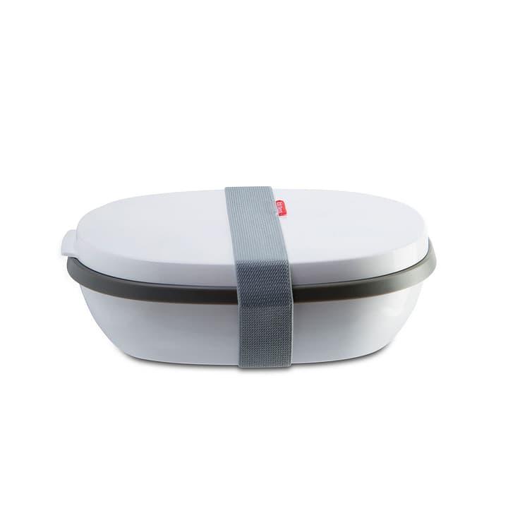 LUNCH Lunchbox MEPAL 393040300000 Grösse B: 22.2 cm x T: 17.5 cm x H: 7.5 cm Farbe Weiss Bild Nr. 1
