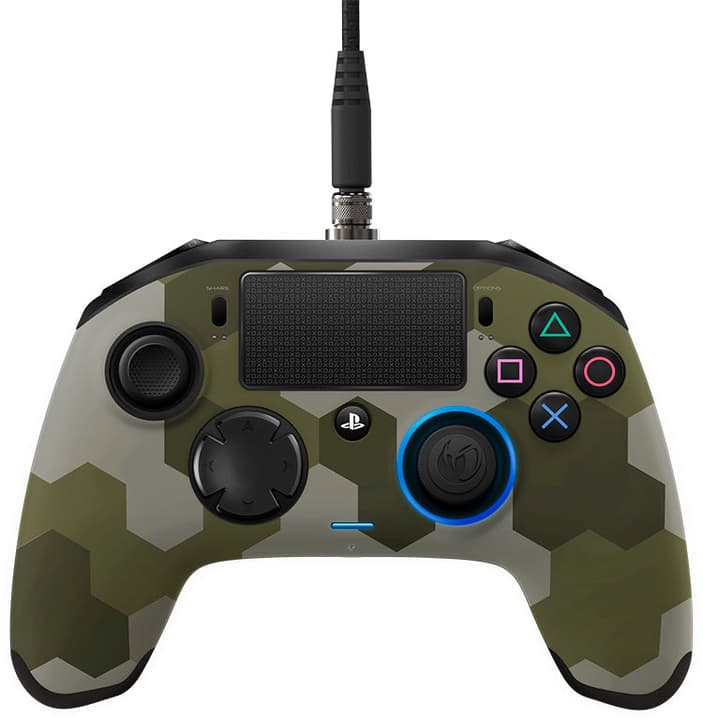 Revolution Pro Gaming PS4 manette camo vert Nacon 785300130455 Photo no. 1