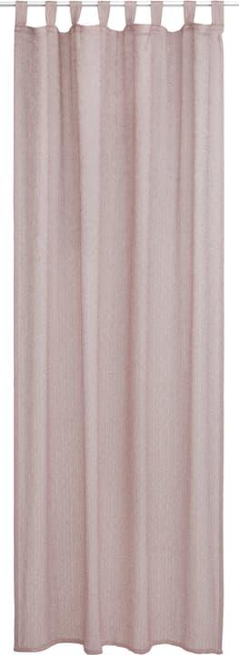 MILA Fertigvorhang Tag 430278921838 Farbe Rosa Grösse B: 150.0 cm x H: 260.0 cm Bild Nr. 1