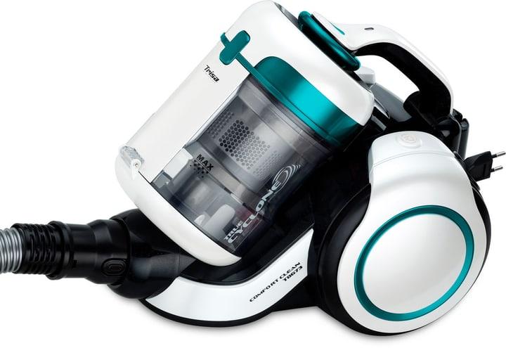 Comfort Clean T8673 senza Sacco bianco/turchese Aspirapolvere Trisa Electronics 785300145640 N. figura 1