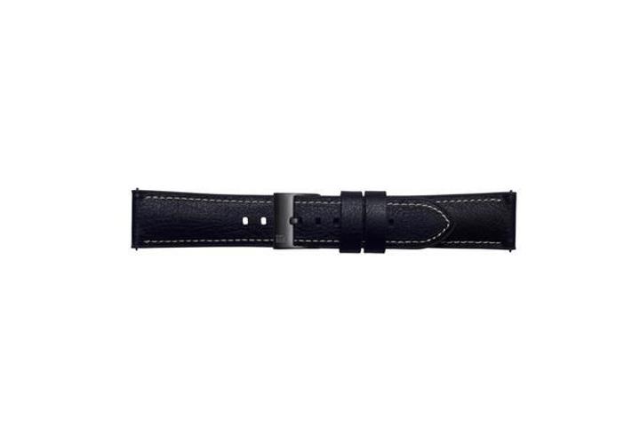 Galaxy Watch (46 mm) Strap Studio Urban Traveller 22 mm noir Bracelet Samsung 785300138352 Photo no. 1