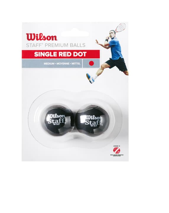 Wilson Squash Ball Rot Balle de squash Wilson 491411300000 Photo no. 1