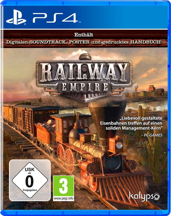PS4 - Railway Empire - D Box 785300131609 Bild Nr. 1