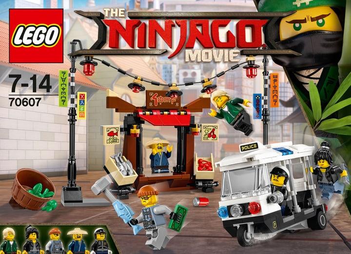 Lego Ninjago La poursuite dans la Ville 70607