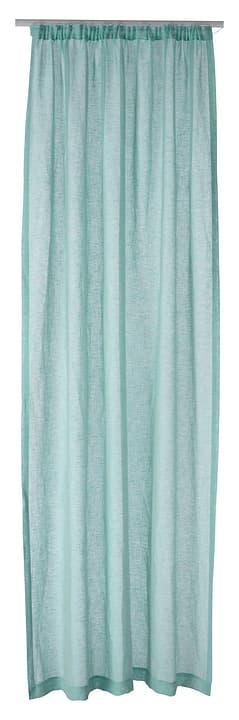 FERNANDA Rideau prêt àposer jour 430264821241 Couleur Bleu clair Dimensions L: 145.0 cm x H: 250.0 cm Photo no. 1