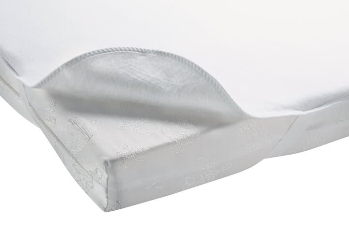 NINO Alése protége-matelas 451040516910 Couleur Blanc Dimensions L: 60.0 cm x H: 120.0 cm Photo no. 1