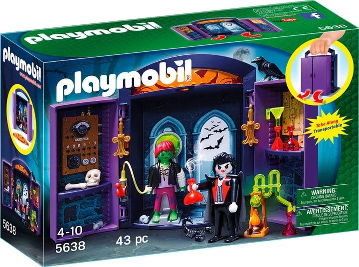 "Playmobil City Life Play Box ""Laboratorio dei mostri"" 5638 746072700000"