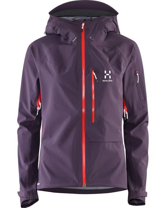 Touring Proof Jacket Veste pour femme Haglöfs 462703200328 Couleur aubergine Taille S Photo no. 1