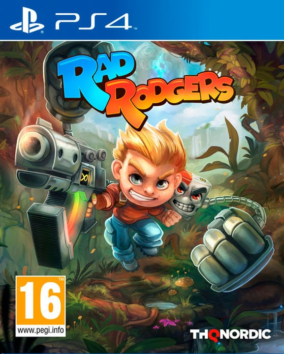 PS4 - Rad Rodgers Physique (Box) 785300129028 Photo no. 1