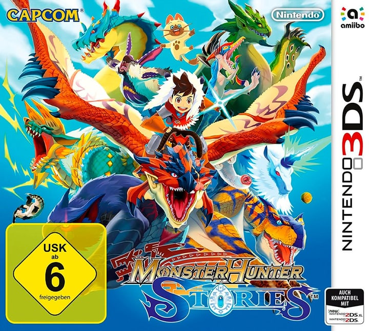 3DS - Monster Hunter Stories Box 785300129018 Photo no. 1