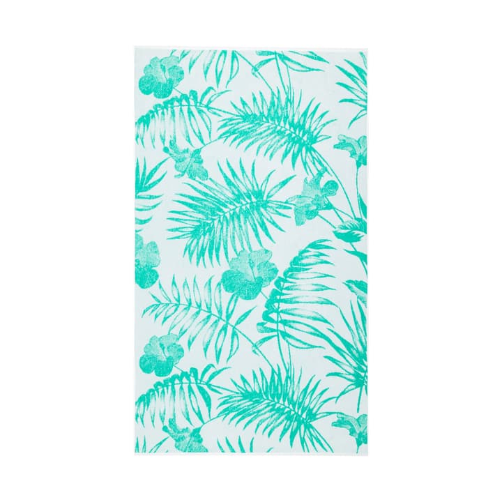 LAZY Serviette de plage 374145520960 Dimensions L: 90.0 cm x H: 160.0 cm Couleur Vert divers motifs Photo no. 1