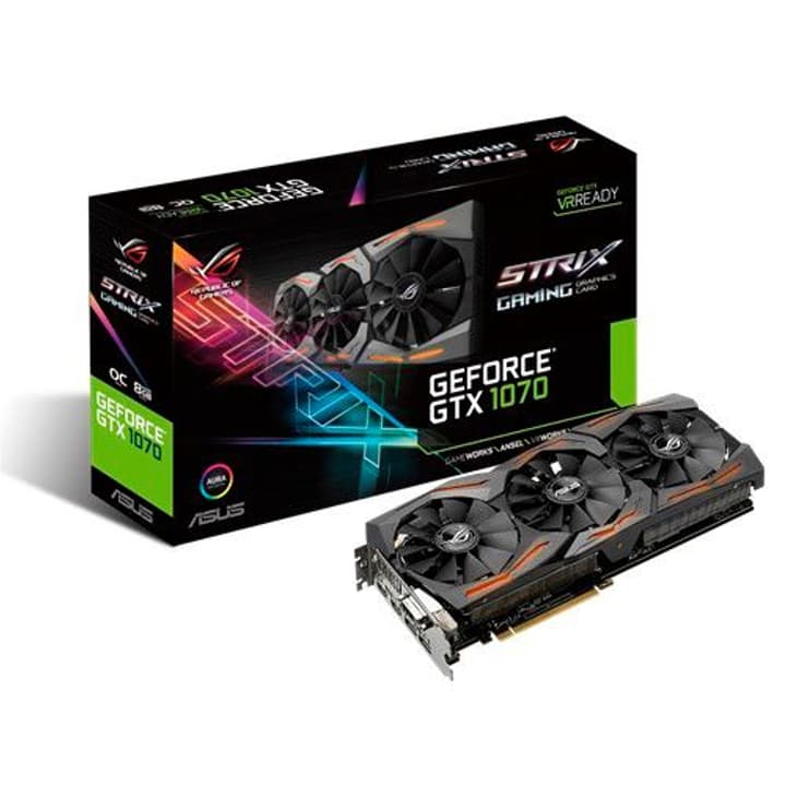 GeForce GTX 1070 ROG Strix O8G Gaming Asus 785300123694