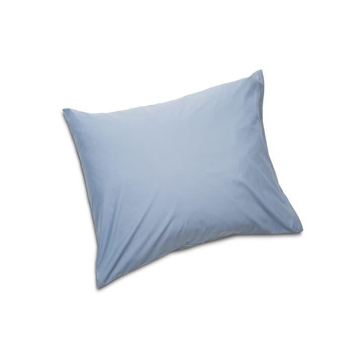 PERCAL Taie d'oreiller 376008583502 Couleur Bleu Dimensions L: 65.0 cm x L: 65.0 cm Photo no. 1