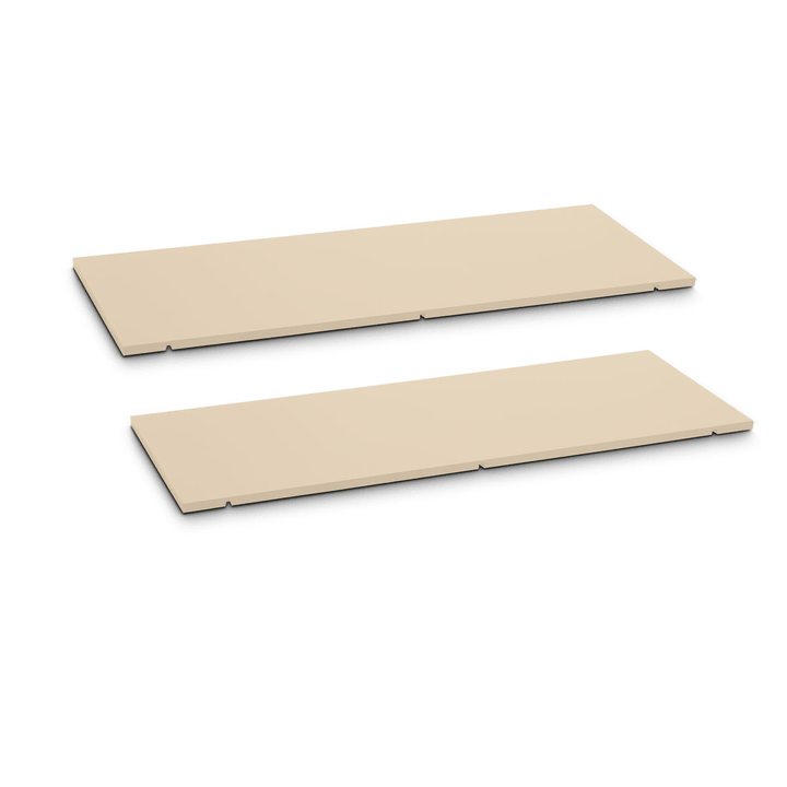 SEVEN Rayon lot de 2 90cm Edition Interio 362019850003 Dimensions L: 90.0 cm x P: 1.4 cm x H: 35.5 cm Couleur Brun Photo no. 1
