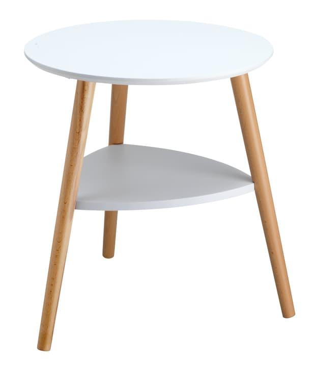 QUINCY Tavolino accbile 407414500000 Colore Bianco Dimensioni L: 48.0 cm x P: 48.0 cm x A: 50.0 cm N. figura 1