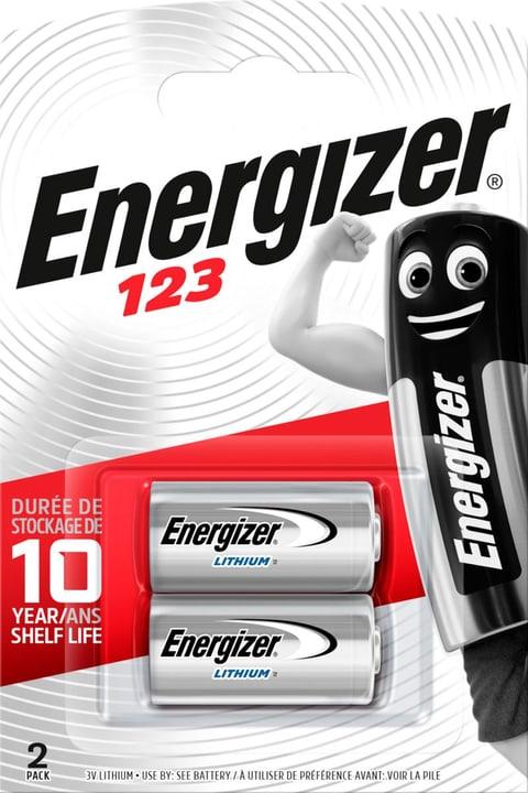 123 Lithium 3.0V (2Stk.) Fotobatterie Energizer 785300126125 Bild Nr. 1