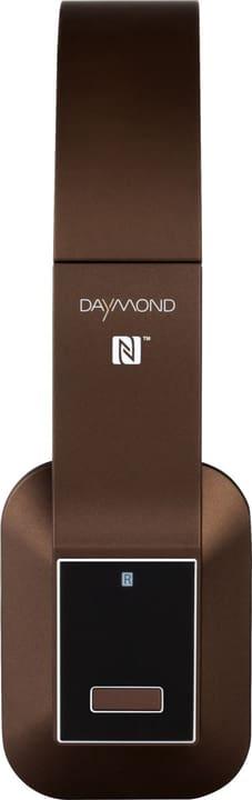 D.04.001 Bluetooth Bügelkopfhörer braun matt Daymond 772743900000