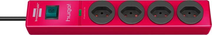 Steckdosenleiste hugo! 4fach rubinrot Brennenstuhl 613173500000 Bild Nr. 1