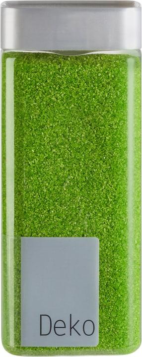 Sable décoratif, 0,5 mm Do it + Garden 655866000000 Couleur Vert Taille ø: 6.5 cm x L: 6.5 cm x L: 15.5 cm x P:  x H:  Photo no. 1