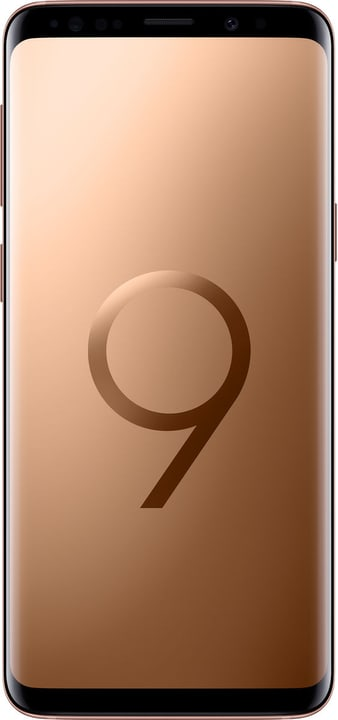 Galaxy S9+ DUOS Dual SIM 256GB Sunrise Gold or Smartphone Samsung 785300137211 Photo no. 1