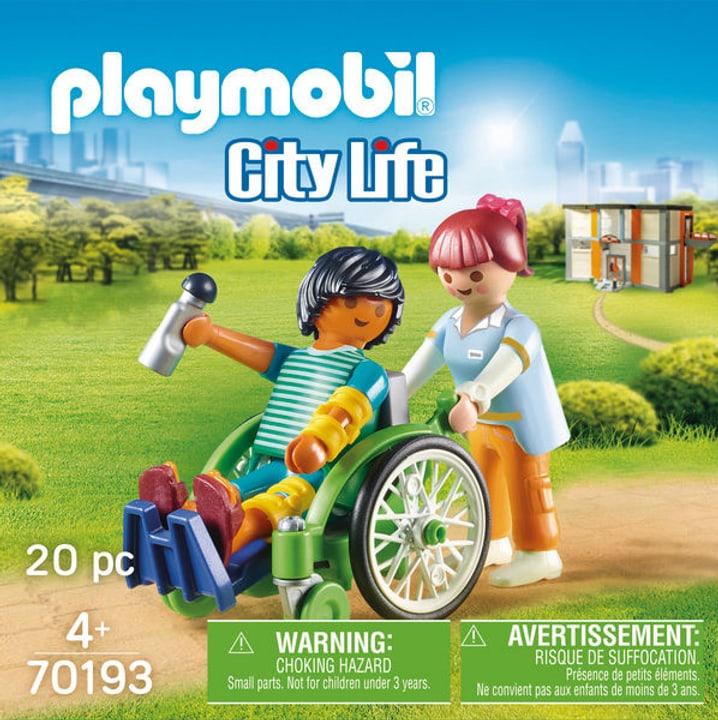 Playmobil 70193 City Sedia a Rotelle 748024800000 N. figura 1