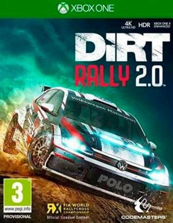 Xbox One - DiRT Rally 2.0 Day One Edition D Box 785300139647 N. figura 1