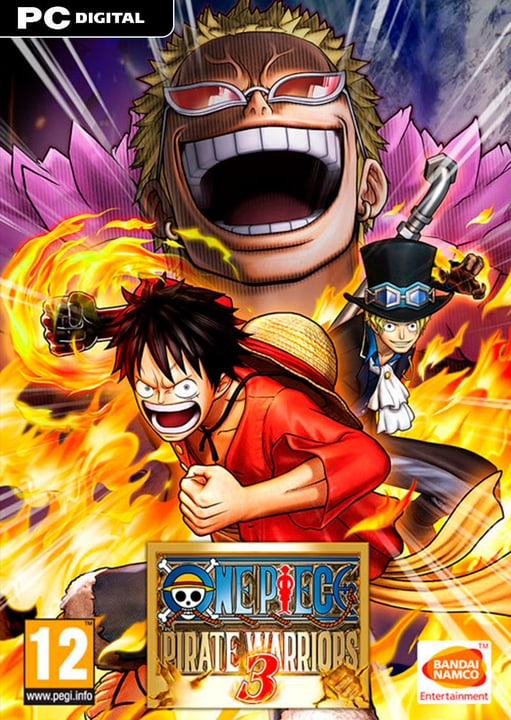 PC - One Piece: Pirate Warriors 3 - D/F/I Digitale (ESD) 785300134382 N. figura 1