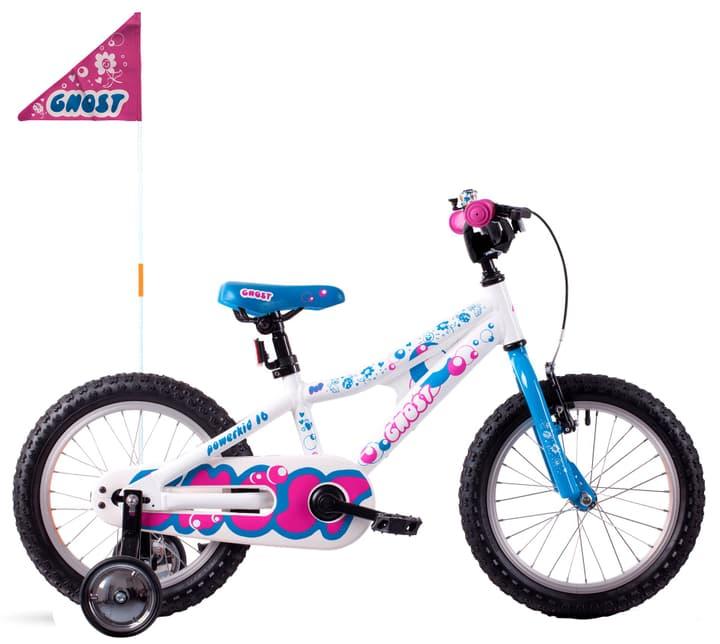 """Powerkid 16"""" vélo d'enfant Ghost 464816200010 Tailles du cadre one size Couleur blanc Photo no. 1"""