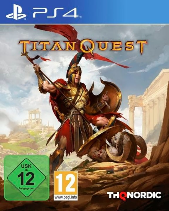 PS4 - Titan Quest D Box 785300132006 Photo no. 1