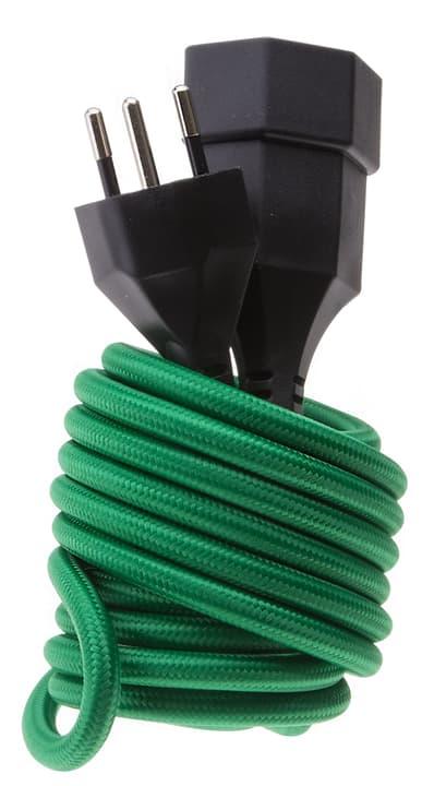 Textil-Verlängerungskabel grün Max Hauri 613157800000 Bild Nr. 1