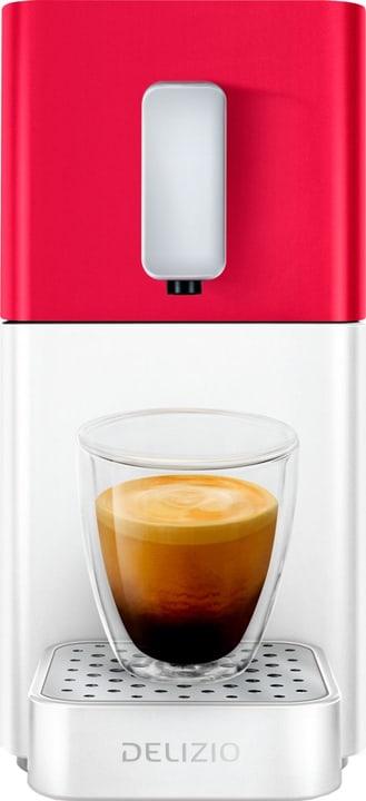Machine à capsules Carina Heart Red / Shell White Delizio 717478500000 Photo no. 1