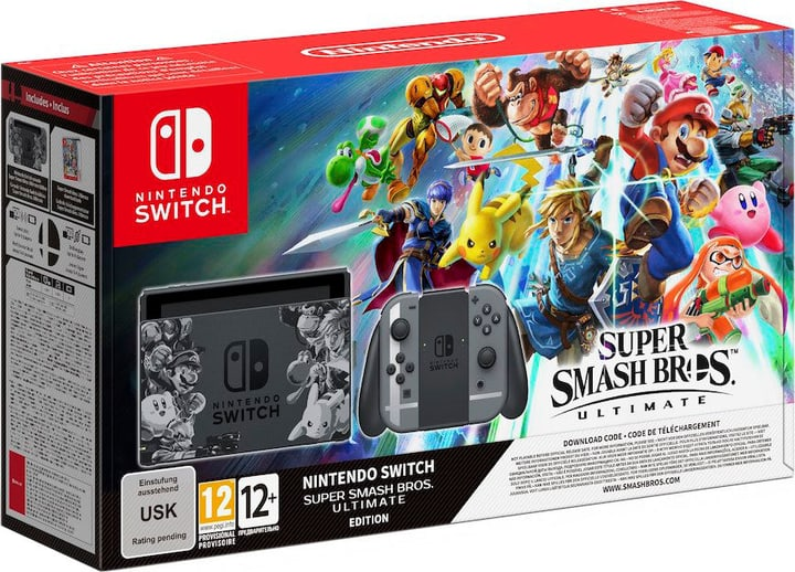 Switch Bundle Super Smash Bros. Ultimate Edition Nintendo 785439900000 Bild Nr. 1