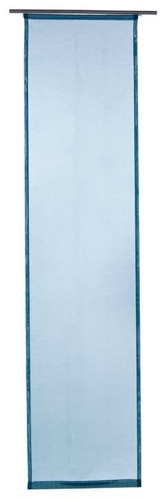 GASPAR Flächenvorhang 430569030444 Farbe Türkis Grösse B: 60.0 cm x T: 245.0 cm x H:  Bild Nr. 1