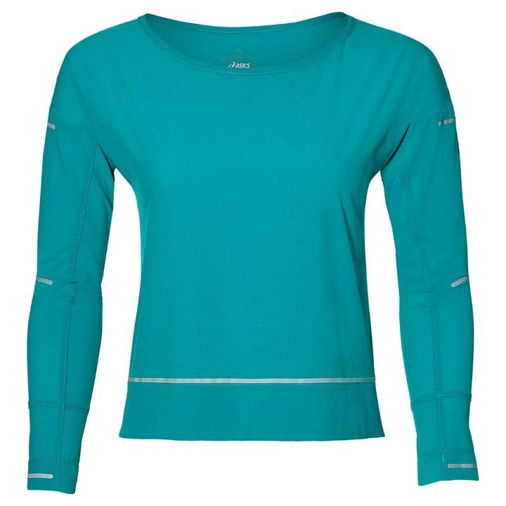 LITE-SHOW COVER UP Damen-Langarmshirt Asics 470152600444 Farbe türkis Grösse M Bild-Nr. 1