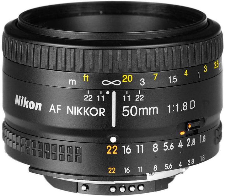 Nikkor AF 50mm/1.8 D objectif Objectif Nikon 785300125521 Photo no. 1