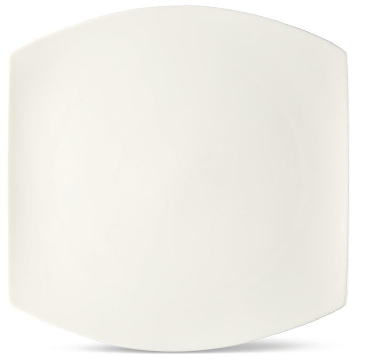 FINE LINE Piatto piano Cucina & Tavola 700160800007 Colore Bianco Dimensioni L: 26.0 cm x P: 26.0 cm x A: 2.4 cm N. figura 1