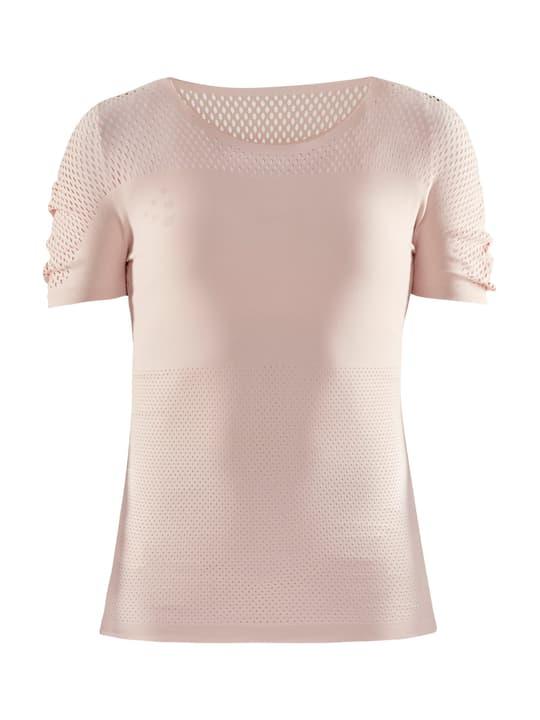 UNTMD SS Warpknit Tee W Damen-T-Shirt Craft 470407701338 Farbe rosa Grösse S/M Bild-Nr. 1