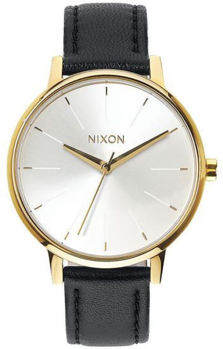 Kensington Leather Gold White Black 37 mm Orologio da polso Nixon 785300137034 N. figura 1