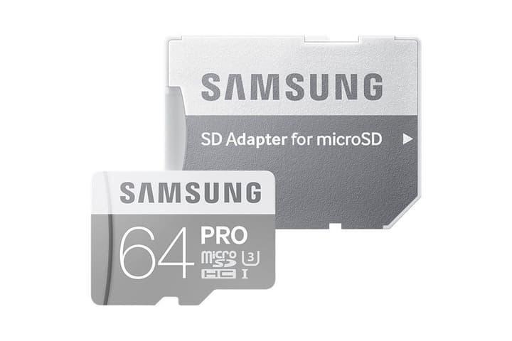 micro SDHC Card Pro 64GB Samsung 798208900000 Photo no. 1